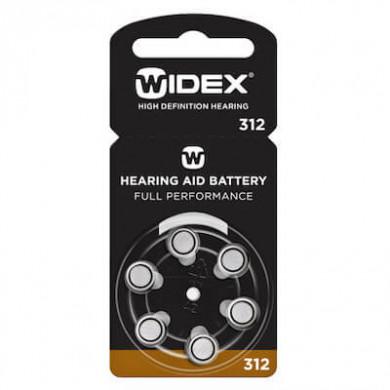 Батарейки для слуховых аппаратов ТИП 312